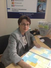 Головина Лидия Петровна - зам директора по учебной работе. Английский язык